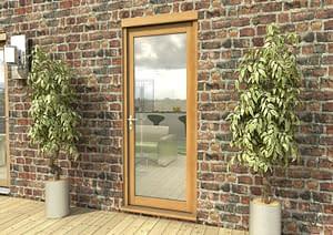 "30"" Aspect Oak Unfinished Single Door - External Shot"
