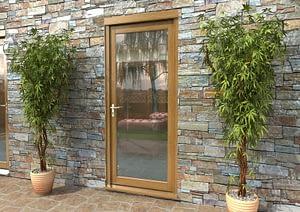 """33"""" Aspect Oak Fully Finished Single Door - External Shot"""