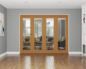 4 Door Repute Fully Finished Oak Internal Bifold