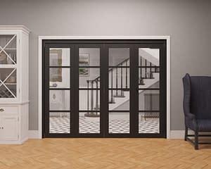 4 Door Vision Heritage 4 Light Internal Bifold - Closed