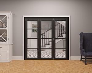 3 Door Vision Heritage 4 Light Internal Bifold - Closed