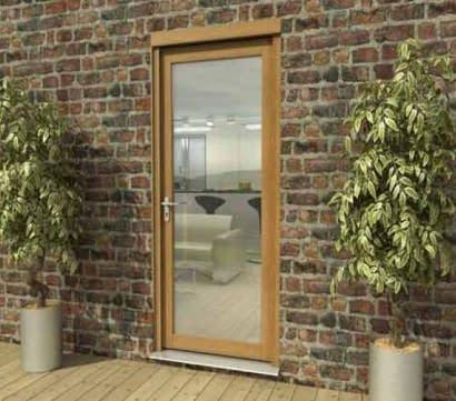 aspect-oak-single-door