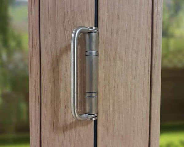 Icon Solid Oak Part Q Handle Hinge