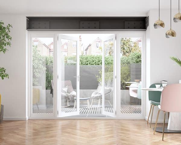 2700mm Icon White French Doors - Internal Shot