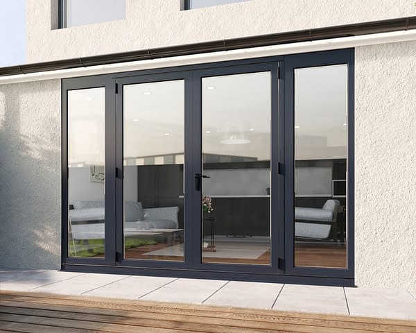 3000mm Revere Grey French - Closed