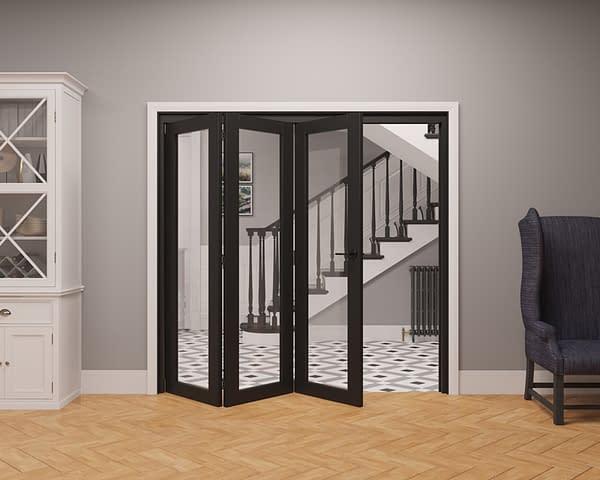 3 Door Vision Heritage 1 Light Internal Bifold - Part Open
