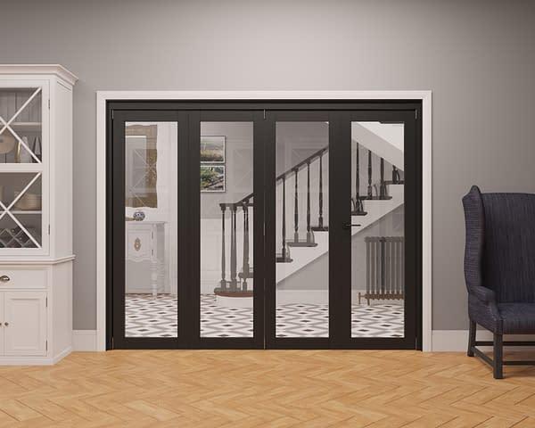 4 Door Vision Heritage 1 Light Internal Bifold - Closed