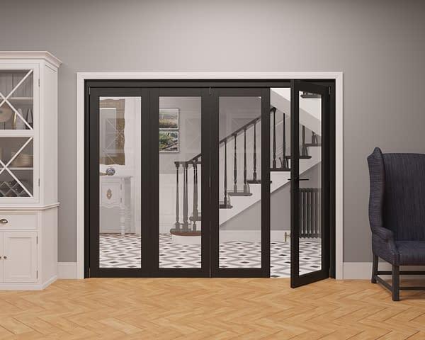 4 Door Vision Heritage 1 Light Internal Bifold - Part Open