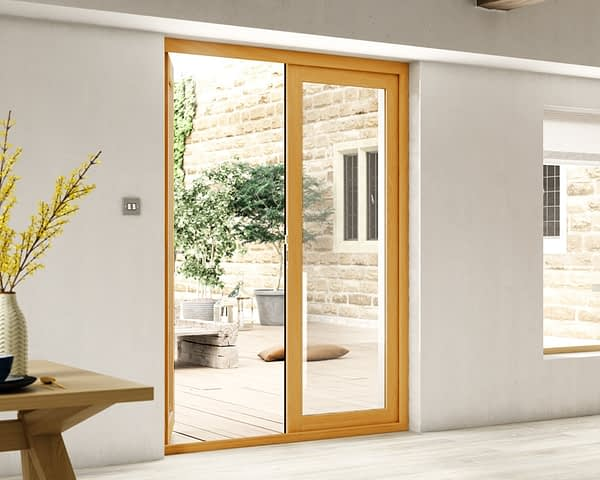 1500mm Evolve Fully Finished French Doors - Internal Shot