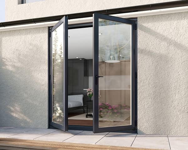 1800mm Revere Grey French - Open