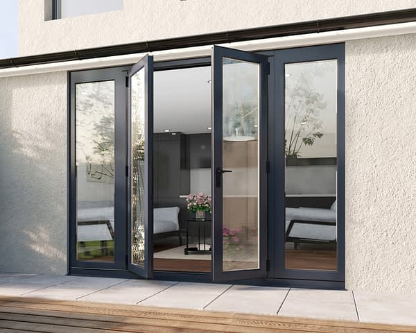 2700mm Revere Grey French - Open