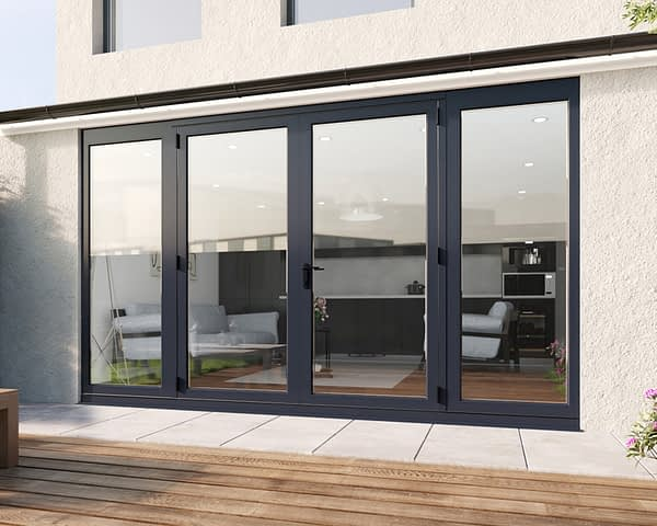 3500mm Revere Grey French - Closed