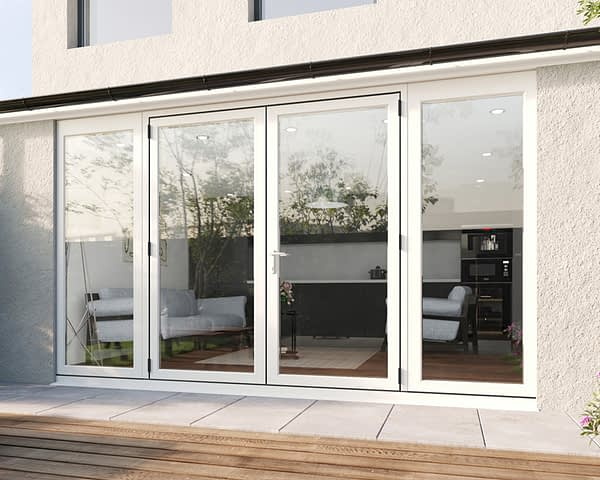3500mm Revere White French - Closed