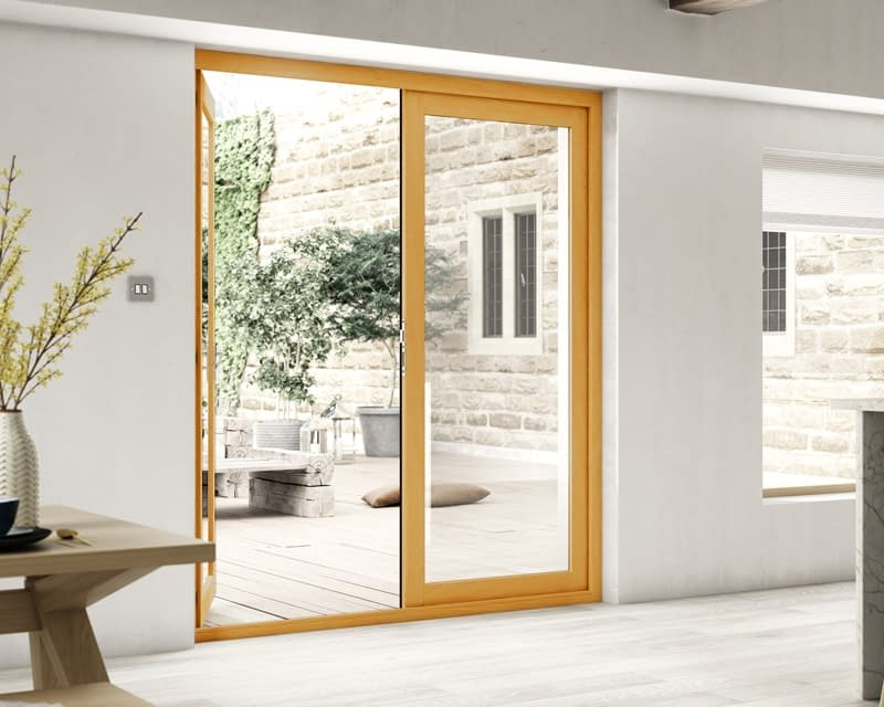 1800mm Evolve Fully Finished French Doors - Internal Shot