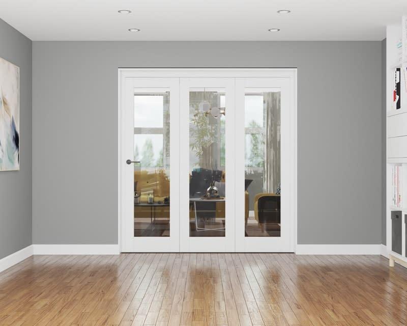 3 Door Repute White Primed Internal Bifold