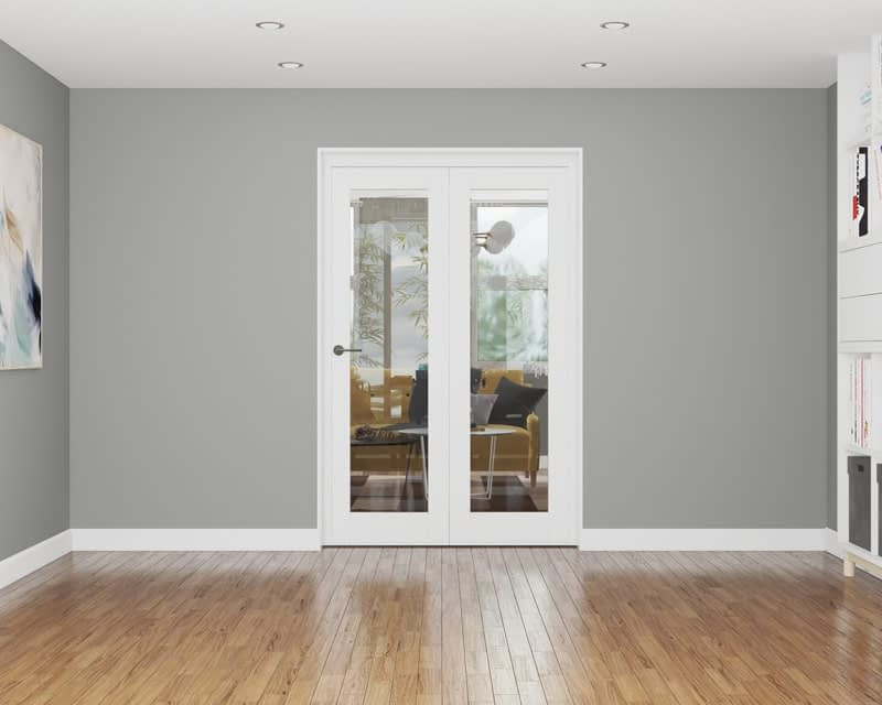2 Door Affinity White Primed Internal Bifold